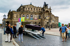 Beleza de Dresden, Alemanha Fotografia de Stock Royalty Free