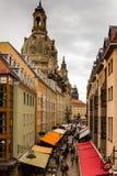 Beleza de Dresden, Alemanha Foto de Stock Royalty Free