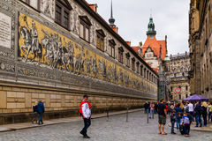 Beleza de Dresden, Alemanha Foto de Stock