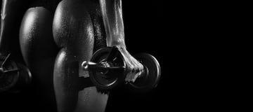 Beleza de Fitnes Imagem de Stock Royalty Free