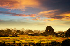 Beleza de Guilin Fotos de Stock