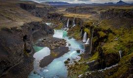 Beleza de Islândia Imagem de Stock Royalty Free