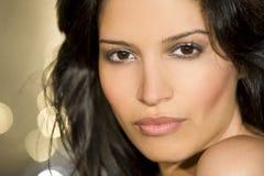 Beleza de Latina fotografia de stock