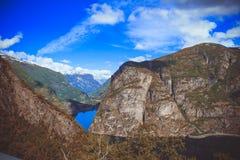 Beleza de Noruega Imagem de Stock Royalty Free