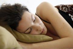 Beleza de Spleeping Imagens de Stock Royalty Free