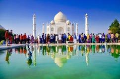 Beleza de Taj mahal Foto de Stock