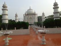 Beleza de Taj mahal Fotos de Stock Royalty Free