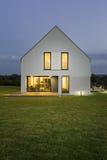 A beleza desta casa vem do formulário simples Imagem de Stock