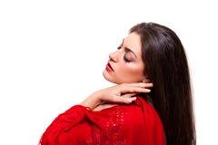 Beleza disparada de um novo, bonito, mulher Fotos de Stock Royalty Free