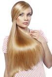 Beleza do cabelo fotos de stock royalty free