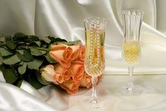 Beleza do casamento Fotografia de Stock