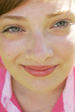 Beleza do close up Foto de Stock Royalty Free