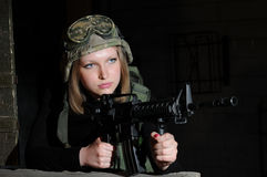 Beleza do exército Imagens de Stock Royalty Free