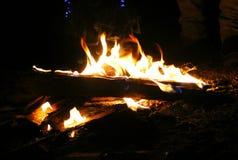 Beleza do ouro do fogo fotografia de stock royalty free