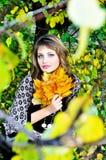Beleza do outono fotografia de stock