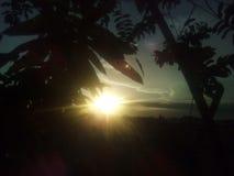Beleza do por do sol Fotos de Stock
