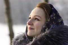 Beleza do russo Imagens de Stock Royalty Free