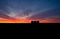 Beleza do silo da grão Imagem de Stock