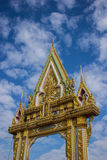 A beleza do templo, da Tailândia e da Ásia Foto de Stock