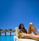 Beleza do verão Imagens de Stock