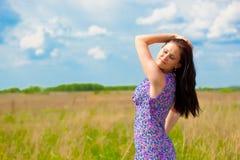 Beleza do verão fotografia de stock