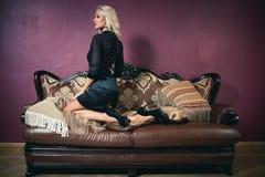 Beleza do vintage Imagem de Stock Royalty Free