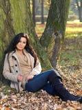 Beleza durante o outono Imagens de Stock Royalty Free