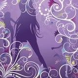 Beleza e floral ilustração royalty free