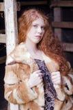 Beleza em uma entrada Imagens de Stock Royalty Free