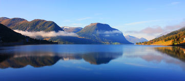 Beleza escandinava Fotografia de Stock