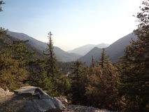 Beleza exterior 01 da montanha do Mt Baldy Foto de Stock