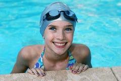 Beleza eyed azul Fotografia de Stock Royalty Free