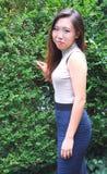 Beleza fêmea asiática foto de stock royalty free