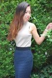 Beleza fêmea asiática fotografia de stock