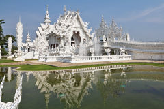 Beleza fantástica o palácio branco Imagens de Stock