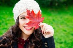Beleza feliz do outono Foto de Stock