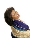 Beleza indiana - glamoroso Fotos de Stock