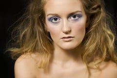 Beleza irritada Foto de Stock Royalty Free