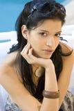 Beleza latino-americano fotografia de stock