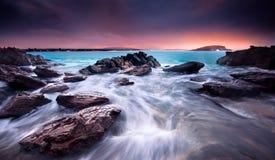 Beleza litoral Fotografia de Stock