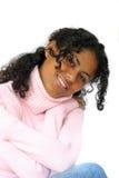 Beleza na cor-de-rosa fotografia de stock royalty free