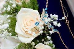 Beleza na natureza e na jóia Fotos de Stock Royalty Free