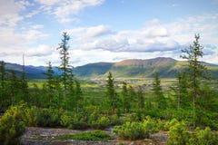 A beleza natural de Chukotka Fotografia de Stock