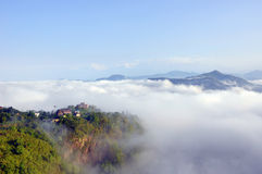 Beleza natural de Nepal Fotografia de Stock Royalty Free