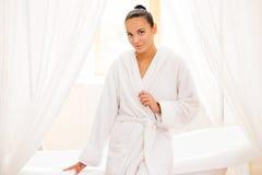 Beleza no banheiro Imagens de Stock Royalty Free