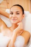Beleza no banho Fotos de Stock Royalty Free