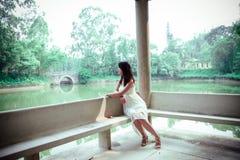 Beleza no jardim clássico chinês Foto de Stock