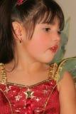 Beleza no vermelho imagens de stock royalty free