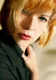 Beleza - olhos verdes Imagens de Stock Royalty Free