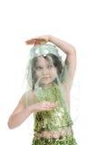 Beleza oriental Imagens de Stock Royalty Free